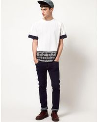 Christopher Shannon - White Kidda T-shirt With Snowflake Print for Men - Lyst