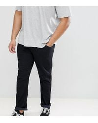 Loyalty & Faith - Black Loyalty And Faith Plus Regular Fit Jeans for Men - Lyst