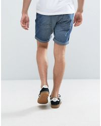 Produkt | Blue Denim Shorts With Distressing for Men | Lyst