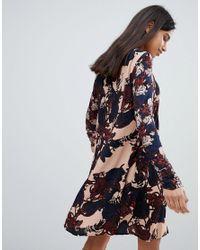 Y.A.S Pink Tulip Floral Print Dress
