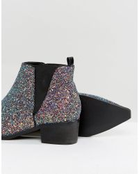 ASOS - Multicolor Admission Pointed Ankle Boots - Lyst