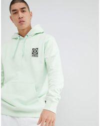 Vans - Worldwide Hoodie With Back Print In Green Va3h99p0n for Men - Lyst