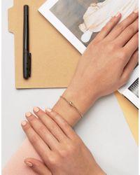 SELECTED - Metallic Femme Bracelet - Lyst