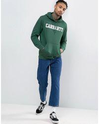 Carhartt WIP - Green College Hoodie for Men - Lyst