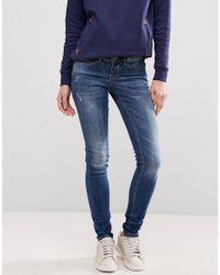 Blend She | Blue Glow Sally Skinny Jeans | Lyst