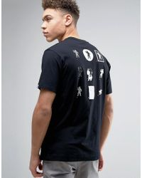 Billionaire Boys Club - Ice Cream | Black T-shirt With Back Print for Men | Lyst