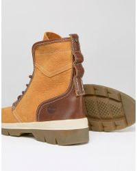 Timberland | Natural Cityblazer 4 Eye Leather Boots for Men | Lyst