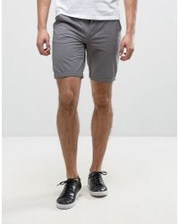 Blend | Gray Chino Short for Men | Lyst