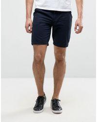 Blend | Blue Chino Short for Men | Lyst