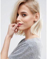Kingsley Ryan - Metallic Sterling Silver Ornate Hoop Earrings - Lyst