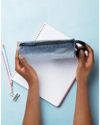 Mi-Pac - Black Velvet Pencil Case - Lyst