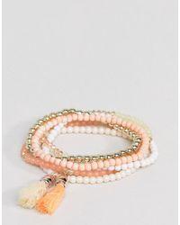 South Beach - Multicolor Orange Multi Bracelet Pack - Lyst