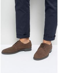 Frank Wright - Lace Up In Brown Waxed for Men - Lyst