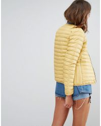 Hunter - Yellow Original Midlayer Padded Jacket - Lyst