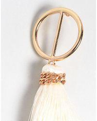 Ashiana - Multicolor Tassel Earrings - Lyst