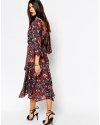 Bec & Bridge - Black Folk Tales Midi Dress - Lyst