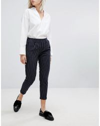 Bershka - Multicolor Peg Trouser - Lyst