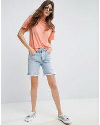 ASOS - Orange Relaxed T-shirt - Lyst