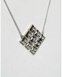 House of Harlow 1960 - Metallic Geo Pendant Necklace - Lyst