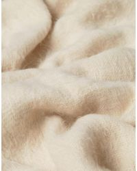 Free People - Natural Koda Brushed Scarf - Lyst