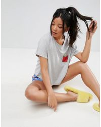 ASOS - Multicolor Fry-day Tee & Short Pyjama Set - Lyst