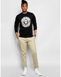 Aape - Black By A Bathing Ape Crew Neck Sweatshirt for Men - Lyst