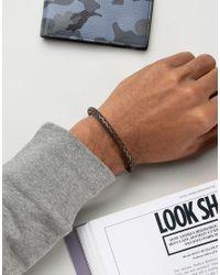 Jack & Jones - Jackrick Clasp Bracelet In Brown for Men - Lyst