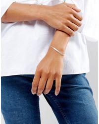 Dogeared - Metallic Sterling Silver Maya Angelou Phenomenal Women Engraved Id Bar Bracelet - Lyst