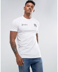 KTZ - White Tech Series Yankees T-shirt for Men - Lyst