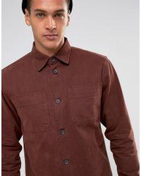 Bellfield   Brown Workwear Overshirt for Men   Lyst