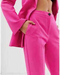 Облегающие Брюки ASOS, цвет: Pink
