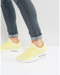 e8d35d80ee Nike Air Max Zero Breathe Trainers In Yellow 903892-700 in Yellow ...