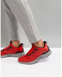 f795b4b13 Adidas Running Alphabounce Sneakers In Red Bw1220 in Red for Men - Lyst