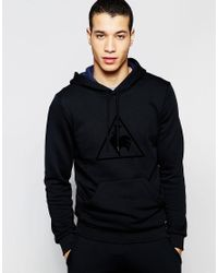 Le Coq Sportif - Hoody In Black 1610183 for Men - Lyst