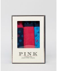 Thomas Pink - Blue 3 Pack Trunk for Men - Lyst