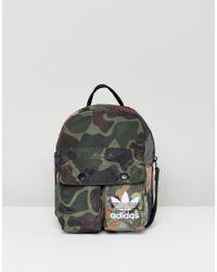 Adidas Originals X Pharrell Williams Lyst Hu Camo Mini Backpack Lyst Williams 146b13