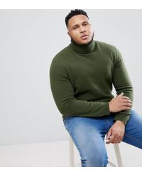 ASOS - Green Colrui In Donkergroen Van Lamswol for Men - Lyst