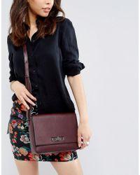 Nali - Red Burgundy Across Body Bag - Lyst