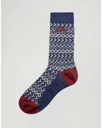Tokyo Laundry - Blue Trunk Socks Gift Box for Men - Lyst