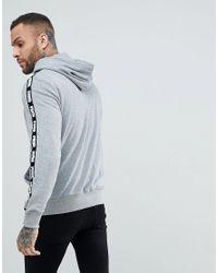 PUMA - Gray Power Rebel Hoodie for Men - Lyst