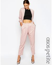 ASOS | Pink Tailored Peg Pant Co-ord | Lyst