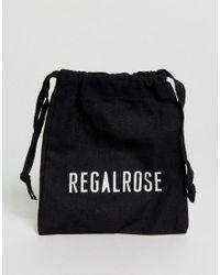 Regal Rose | Metallic Veronica Large Hoop Cross Earrings | Lyst