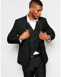 ASOS | Slim Blazer In Black for Men | Lyst