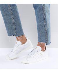 Adidas In Originals Originals Gazelle In Adidas Hvid in Hvid Lyst 8cf85d