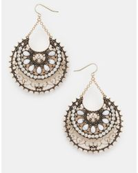 ALDO - Metallic Sassola Drop Earrings - Lyst