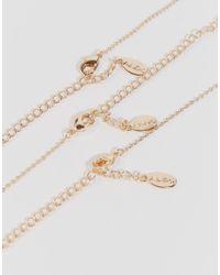 ALDO - Metallic Ldo Vaylla Multirow Necklaces - Lyst