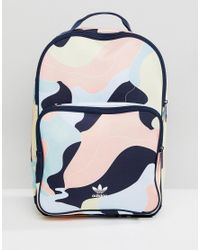 4f2566dead Adidas Originals Hza Valley Camo Backpack Dp0217 in Pink for Men - Lyst