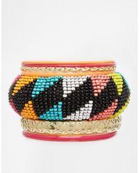 New Look - Multicolor Seed Bead Multipack Bracelet - Lyst
