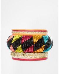 New Look | Multicolor Seed Bead Multipack Bracelet | Lyst