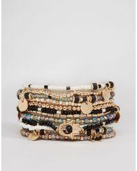 ALDO - Metallic Giviel Multipack Bracelets - Lyst
